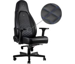 NOBLECHAIRS ICON Gaming Chair - Black & Blue
