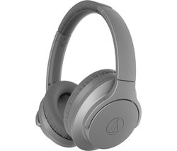 AUDIO TECHNICA QuietPoint ATH-ANC700BT Wireless Bluetooth Noise-Cancelling Headphones - Grey