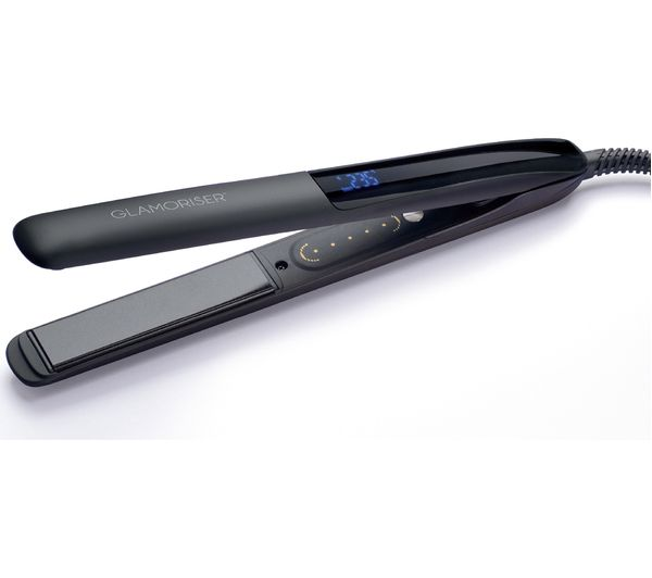 Image of GLAMORISER Bluetooth Smart Hair Straightener - Black