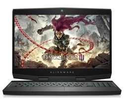 "ALIENWARE M15 15.6"" Intel® Core™ i7 RTX 2060 Gaming Laptop - 1 TB HDD & 256 GB SSD"