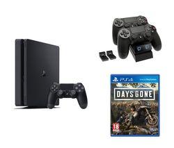 SONY PlayStation 4, Days Gone & Twin Docking Station Bundle - 1 TB