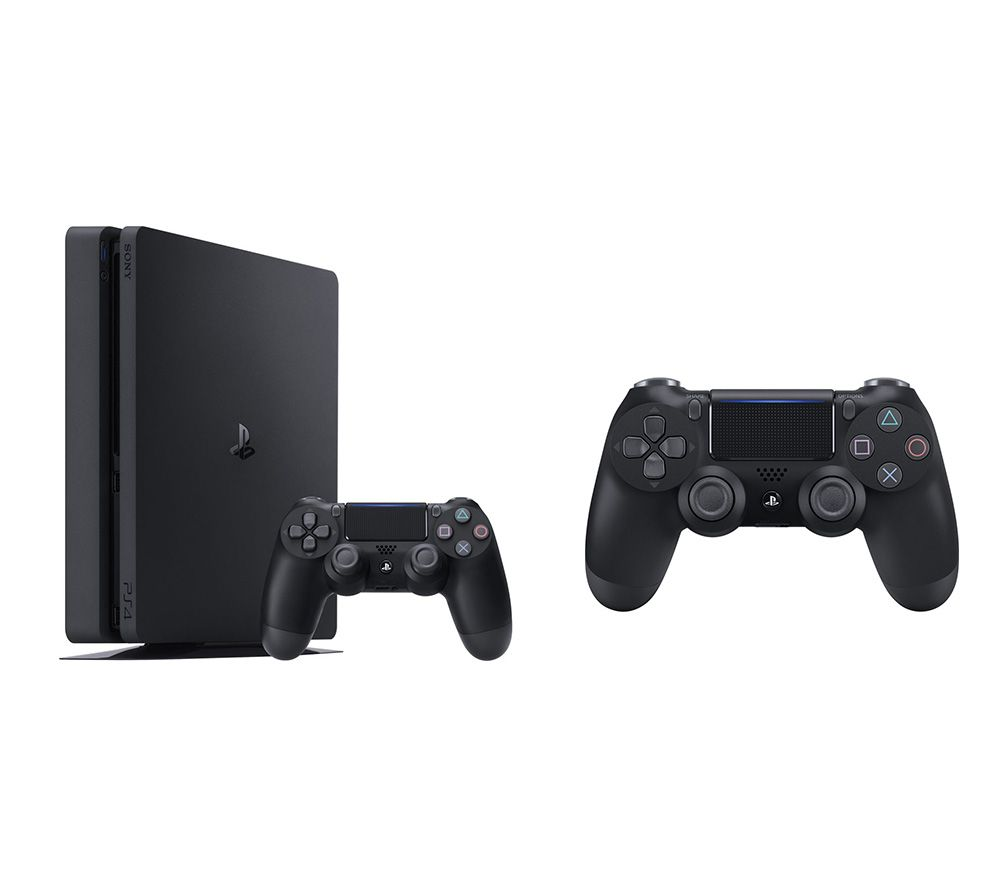 SONY PlayStation 4 & DualShock 4 V2 Wireless Controller Bundle - 500 GB