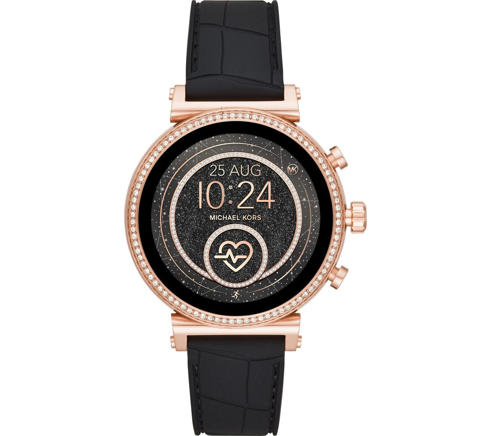 MICHAEL KORS Access Sofie Heart Rate MKT5069 Smartwatch - Rose Gold & Black