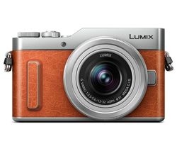 PANASONIC Lumix DC-GX880 Mirrorless Camera with G Vario 12-32 mm f/3.5-5.6 Asph. Mega O.I.S. Lens - Tan