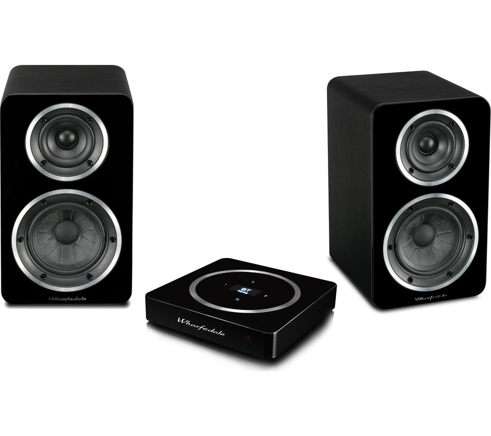 Image of Diamond Active A-1 Bluetooth Bookshelf Speakers - Black, Black