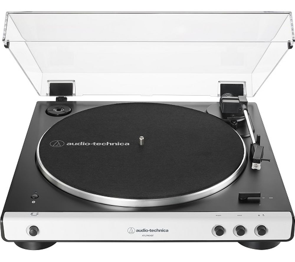 Image of AT-LP60XBT Belt-Drive Bluetooth Turntable - White, White