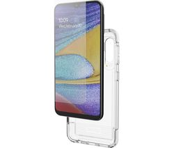 Wembley Galaxy A20e Case & InvisibleShield Glass+ Screen Protector Bundle