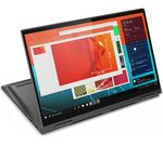 £799, LENOVO YOGA C740 14inch 2 in 1 Laptop - Intel® Core™ i5, 256 GB SSD, Grey, Premium: Impressive performance and quality design, Windows 10, Intel® Core™ i5-10210U Processor, RAM: 8GB / Storage: 256GB SSD, Full HD touchscreen,