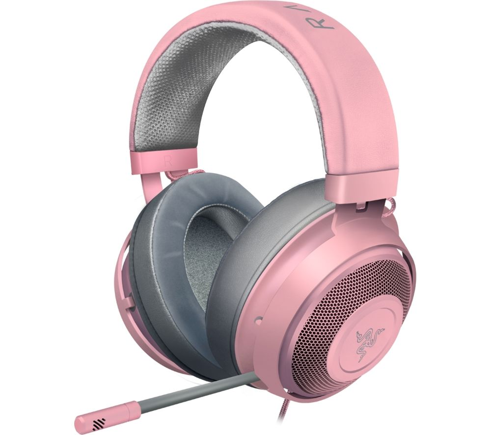 Image of Kraken Gaming Headset - Quartz Pink, Pink