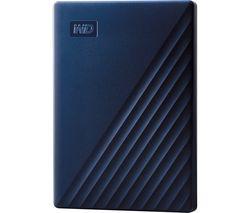 WD My Passport for Mac Portable Hard Drive - 2 TB, Midnight Blue