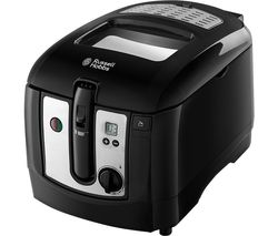 24580 Deep Fryer - Black & Silver