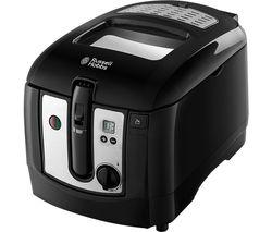 RUSSELL HOBBS 24580 Deep Fryer - Black & Silver