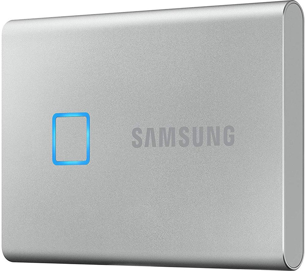 SAMSUNG T7 Touch External SSD - 2 TB, Silver