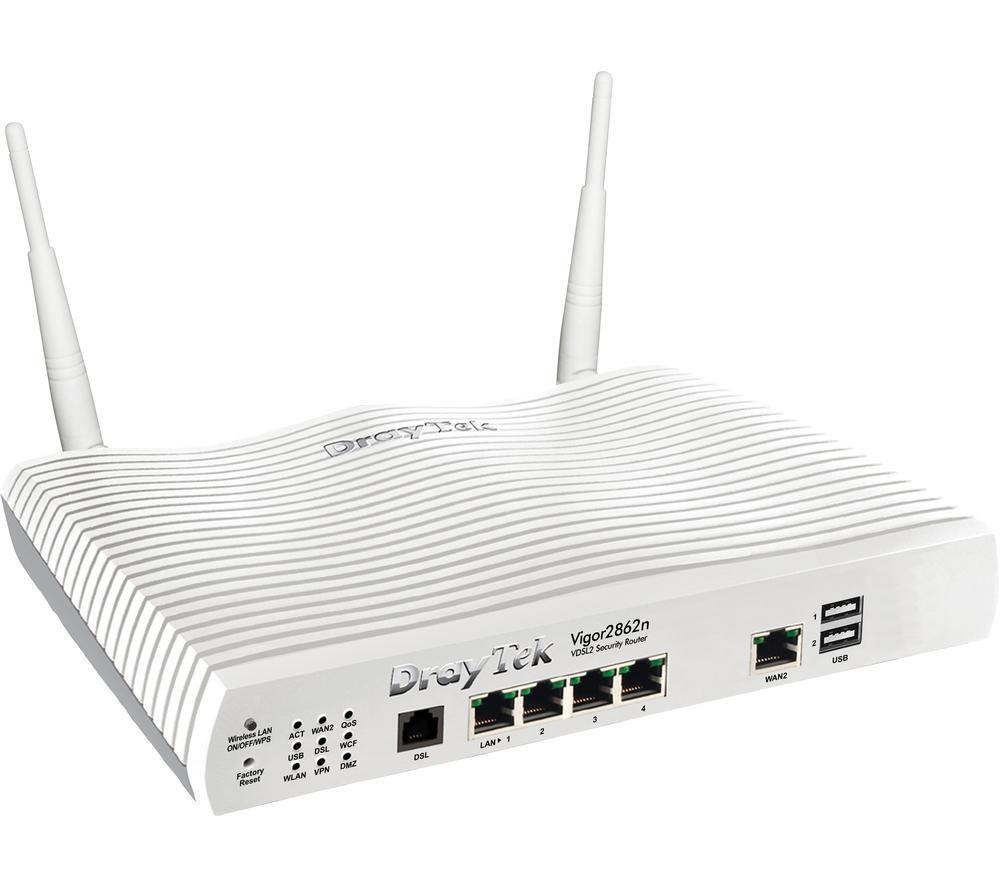 DRAYTEK Vigor V2862N-K WiFi Modem Router - Dual-band