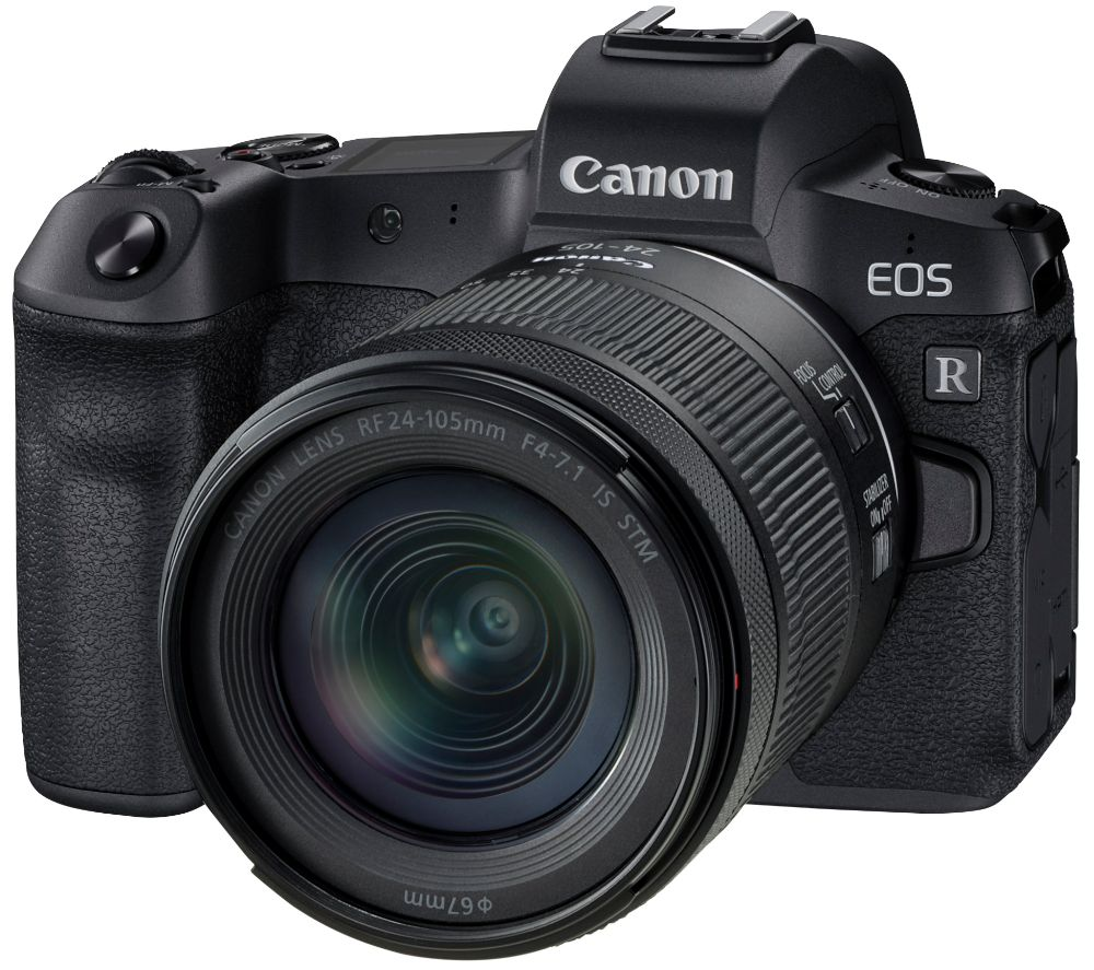 Canon Eos R Mirorless Camera With Rf 24 105 Mm F 4 71 Is Stm Lens
