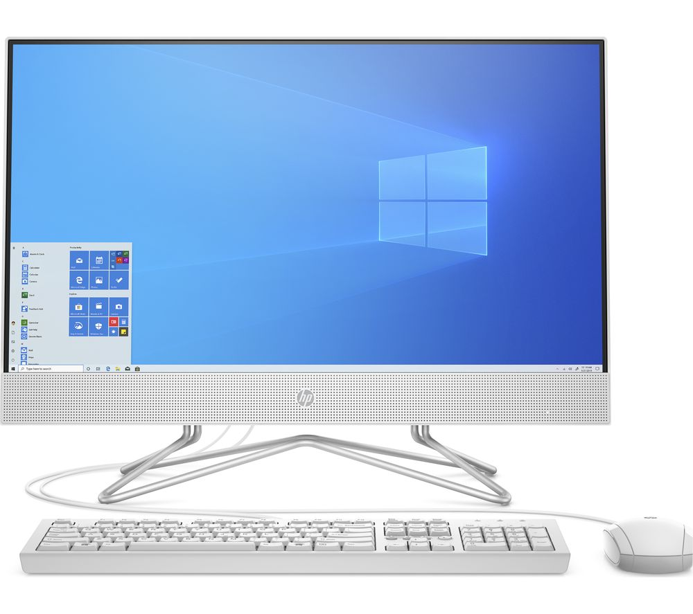 "Image of HP 24-df0015na 23.8"" All-in-One PC - Intel® Core™ i3, 256 GB SSD, White"