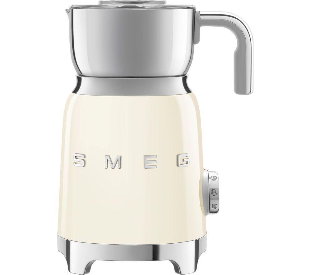 SMEG MFF01CRUK Milk Frother - Cream, Cream