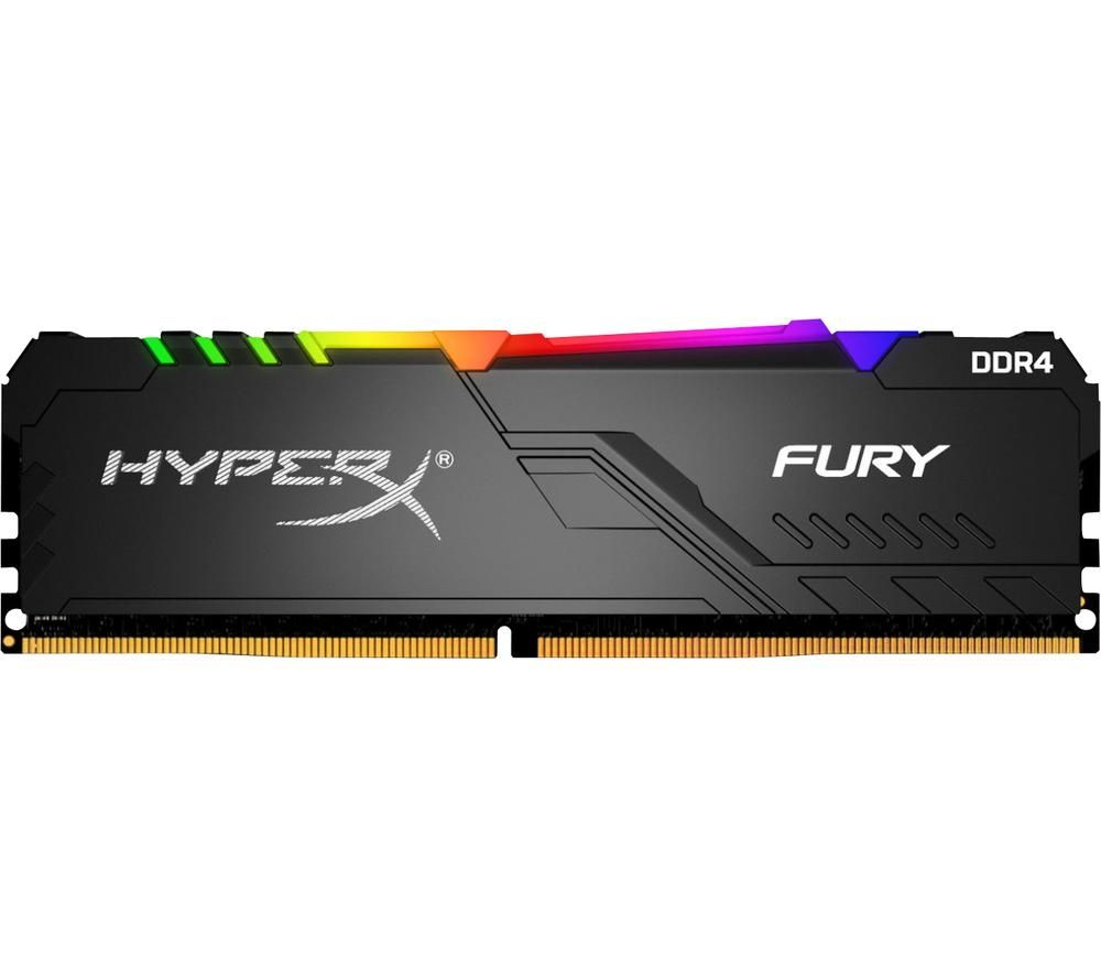 HYPERX FURY RGB DDR4 3000 MHz PC RAM - 8 GB x 2