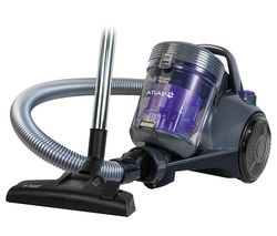 Atlas2 RHCV3601 Cylinder Bagless Vacuum Cleaner - Purple & Grey