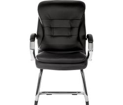 Goliath Light 6958 Bonded Leather Visitor Chair - Black