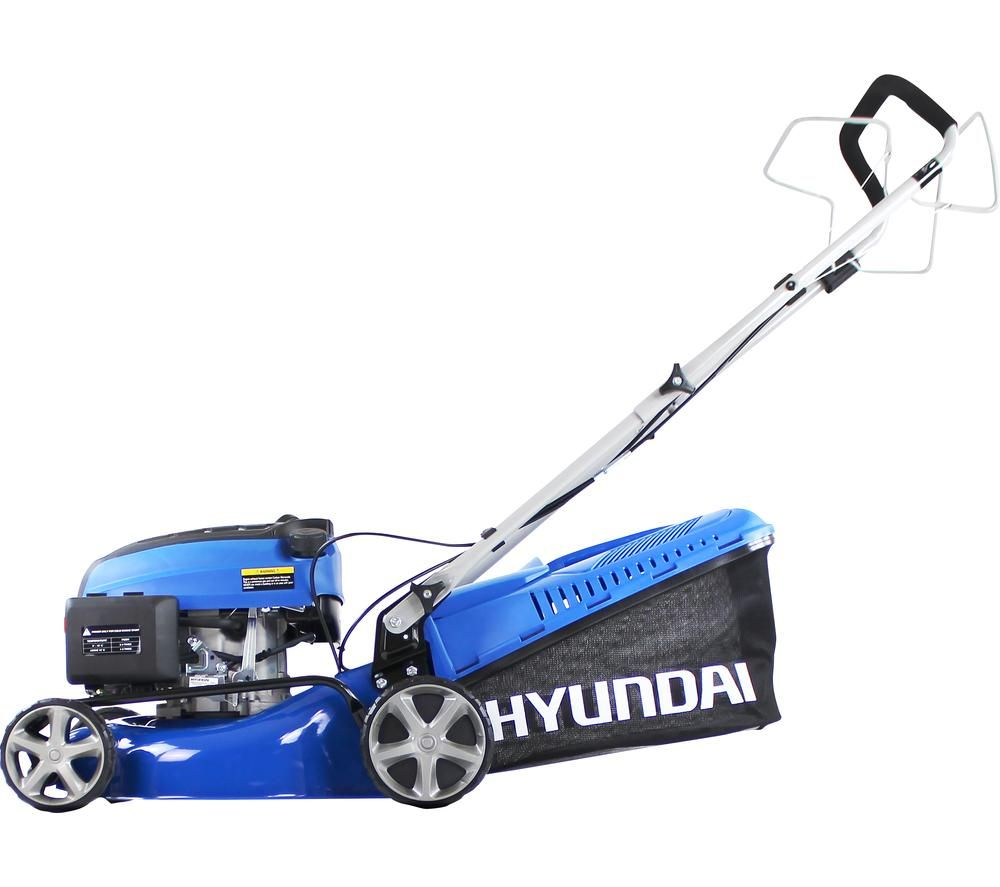 HYUNDAI HYM430SP Cordless Rotary Lawn Mower - Blue