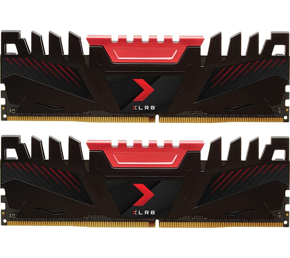 PNY XLR8 DDR4 3200 MHz PC RAM - 16 GB x 2