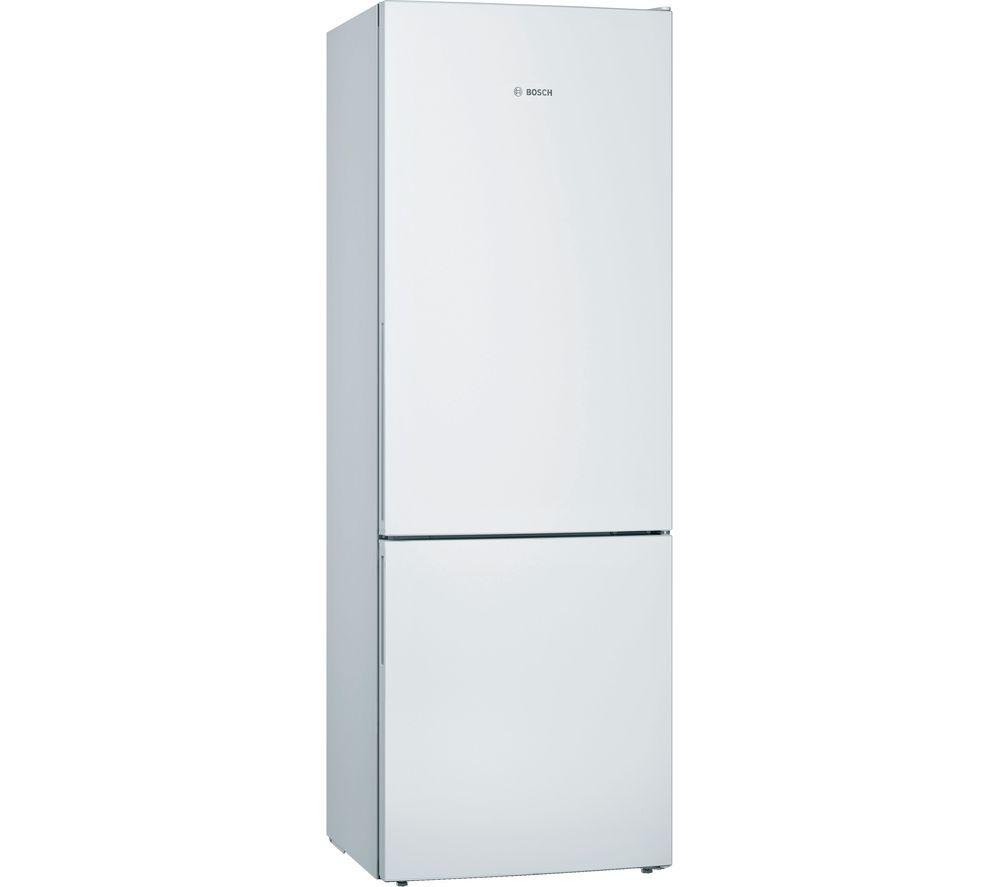 BOSCH KGE49AWCAG 60/40 Fridge Freezer - White, White