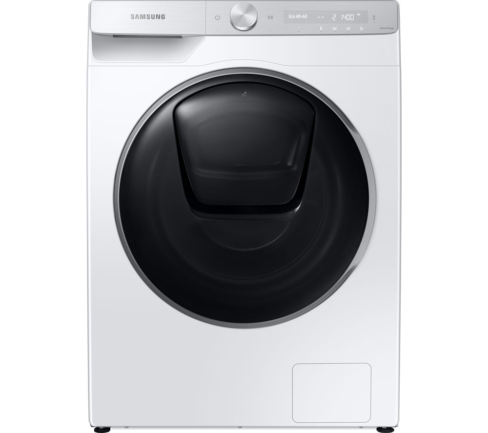 SAMSUNG QuickDrive WW90T986DSH/S1 WiFi-enabled 9 kg 1600 Spin Washing Machine - White