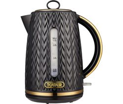 Empire Collection T10052BLK Jug Kettle -  Black