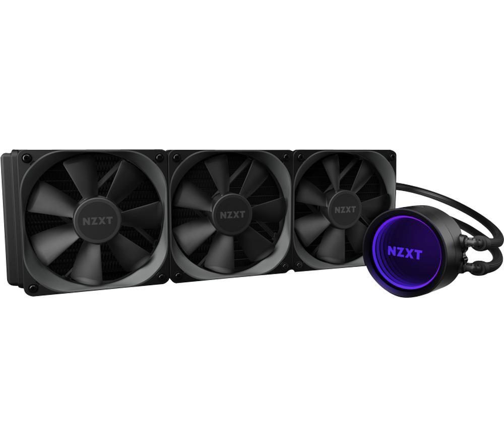 NZXT Kraken X73 360 mm Liquid CPU Cooler - RGB LED