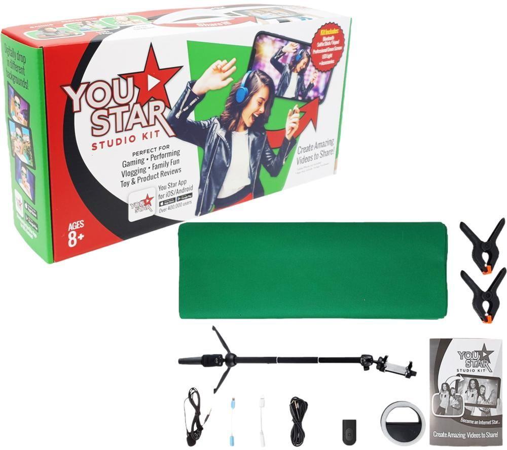YOUSTAR Video Shooting Studio Kit, Green