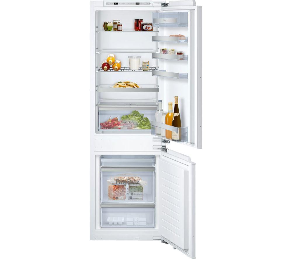 NEFF N70 KI6863FE0G 60/40 Integrated Fridge Freezer - Fixed Hinge