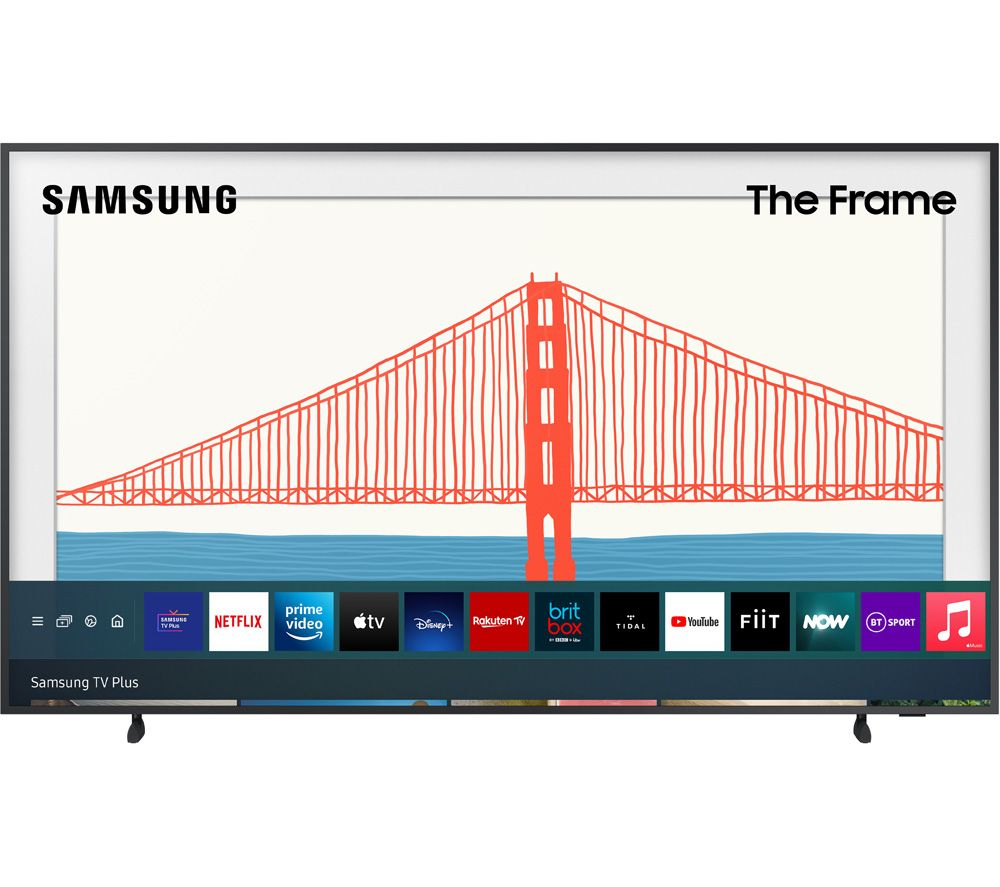 "SAMSUNG The Frame QE75LS03AAUXXU 75"" Smart 4K Ultra HD HDR QLED TV with Bixby, Alexa & Google Assistant"