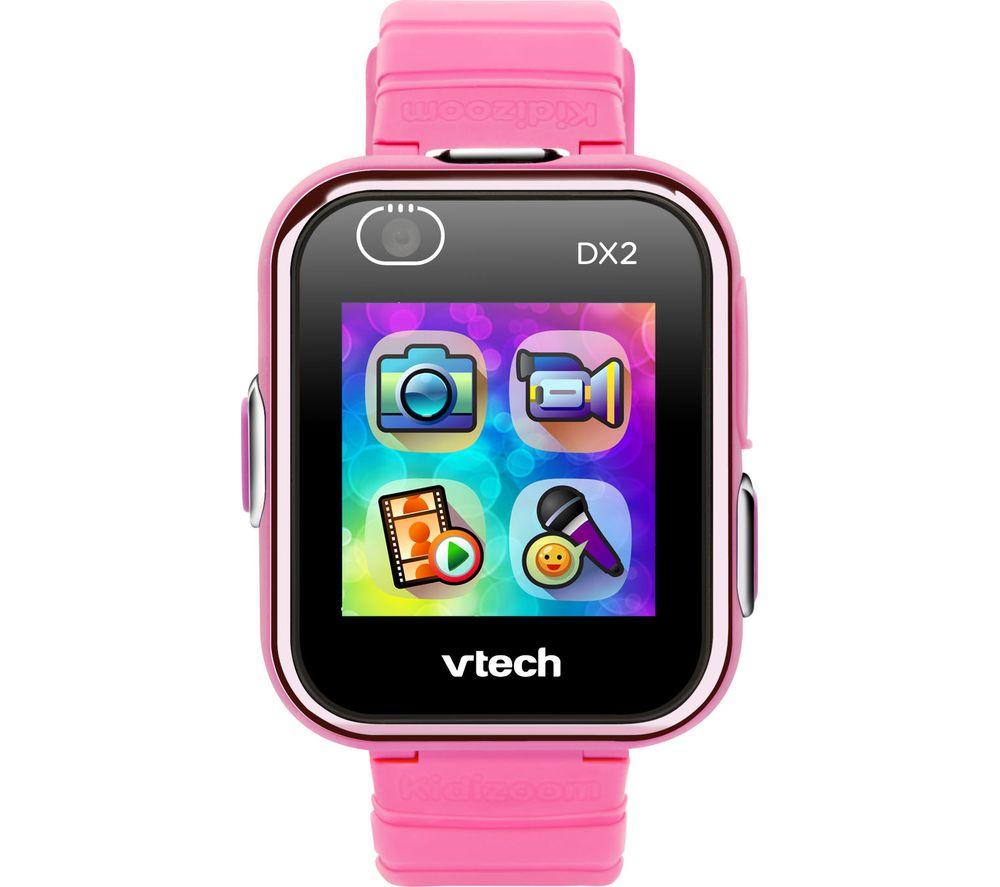 VTECH Kidizoom DX2 Smartwatch - Pink, Pink