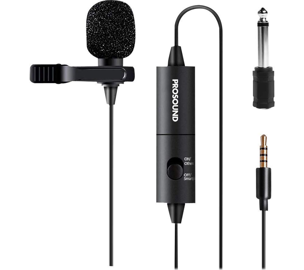 PROSOUND PROS-00AU1 Lavalier Microphone