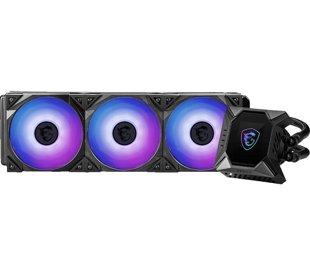 MSI MPG CORELIQUID K360 120 mm Liquid CPU Cooler - RGB LED