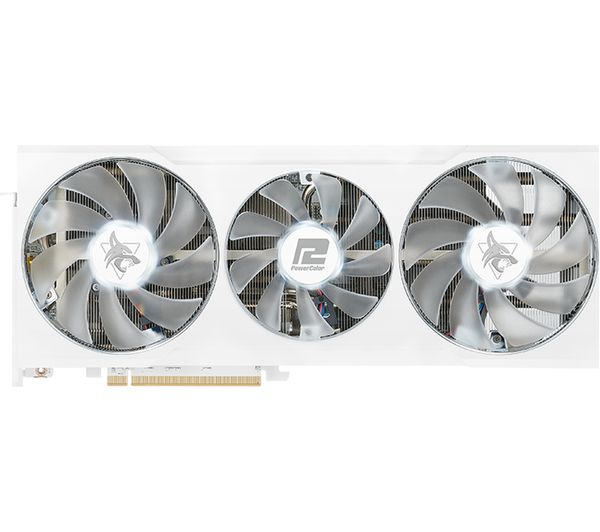 Image of POWERCOLOR Radeon RX 6700 XT 12 GB Hellhound Spectral White Graphics Card