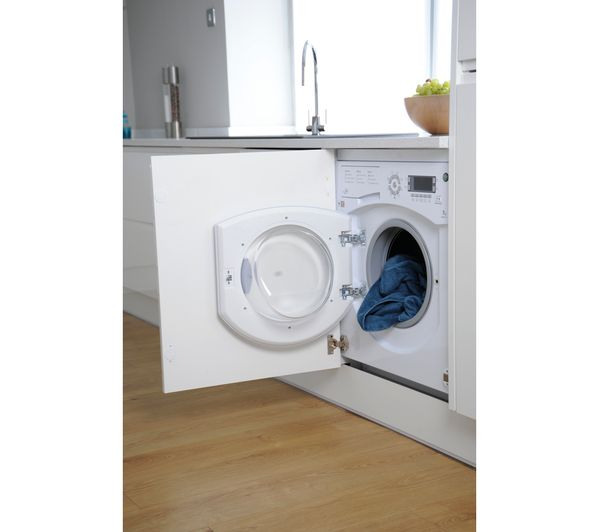 Buy HOTPOINT Ultima BHWMD742 Integrated Washing Machine ...