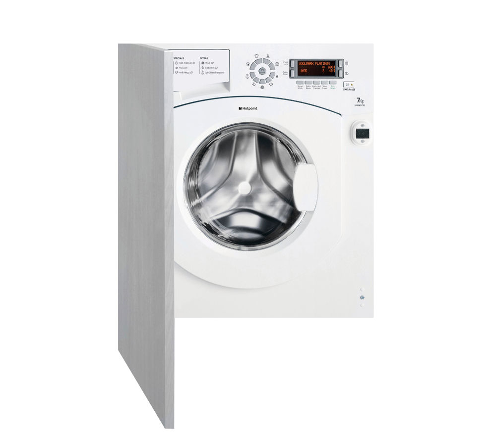 HOTPOINT Ultima BHWMD742 Integrated Washing Machine
