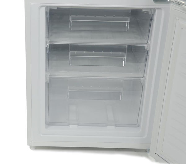 refrigerator and freezer. essentials ce55cw13 60/40 fridge freezer - white refrigerator and