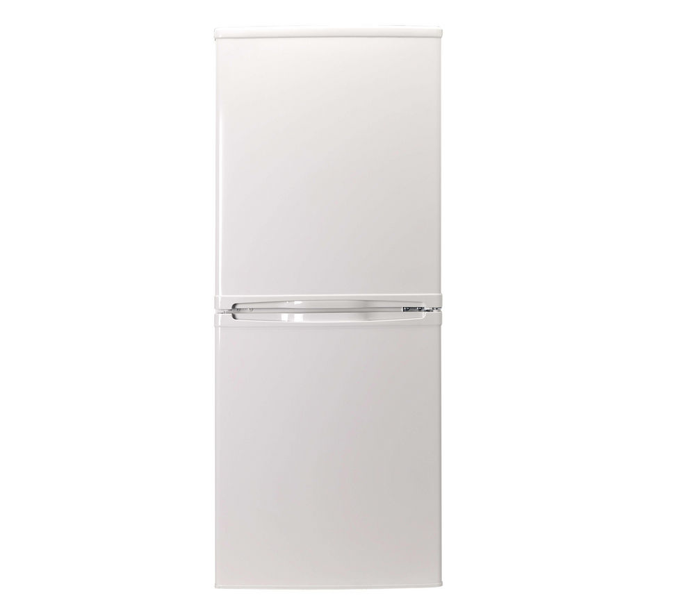 ESSENTIALS CE55CW13 60/40 Fridge Freezer - White + Ecotime IDV75 Vented Tumble Dryer - White