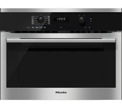 MIELE H6100BM Electric Oven & Microwave - Clean Steel
