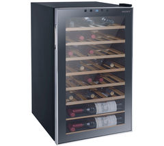 HUSKY Reflections HUS-HN10 Wine Cooler - Black