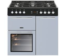 LEISURE AL90F230B Dual Fuel Range Cooker - Blue