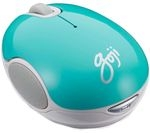 GOJI GMWLTQ15 Wireless Blue Trace Mouse - Turquoise