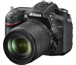 NIKON D7200 DSLR Camera with 18-105 mm f/3.5-5.6 VR Lens