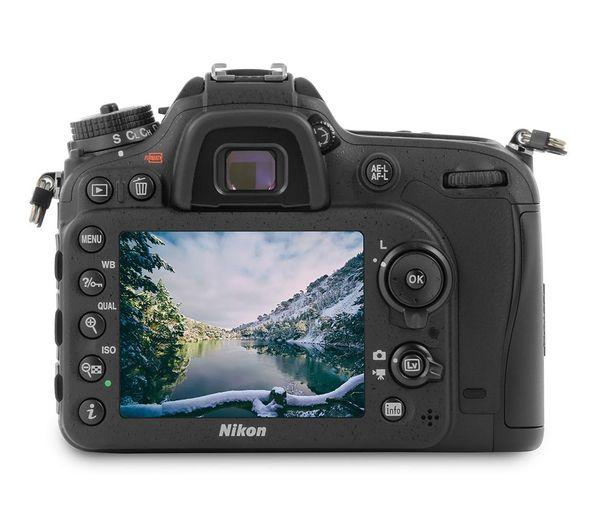 D7200 DSLR Camera with 18-105 mm f/3 5-5 6 VR Lens