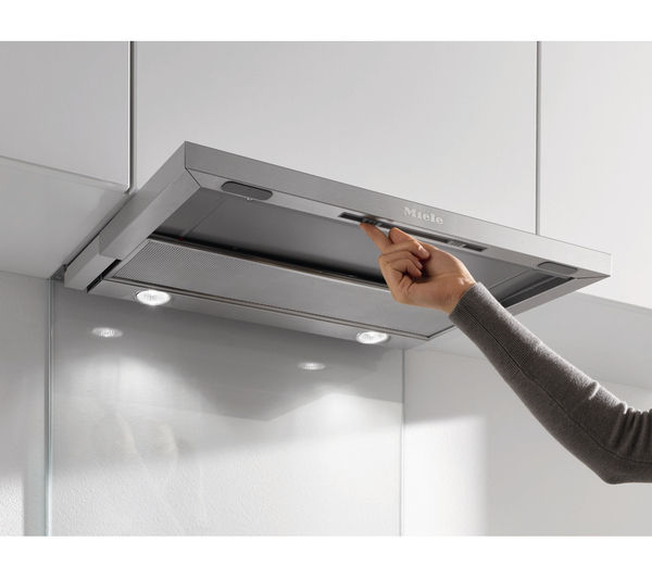 MIELE DA3366 Canopy Cooker Hood - Stainless Steel