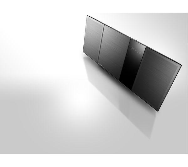 PANASONIC SC-HC397EB-K Wireless Flat Panel Hi-Fi System - Grey