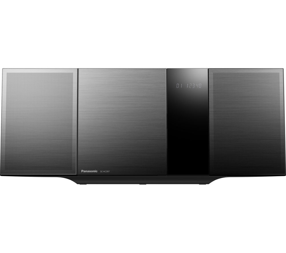PANASONIC SC-HC397EB-K Wireless Flat Panel Hi-Fi System specs